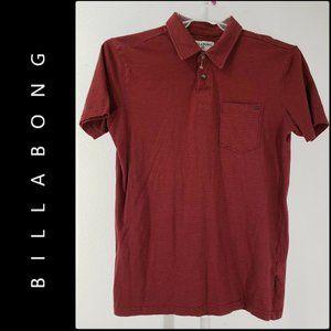 Billabong Men Short Sleeve Golf Polo Shirt Small